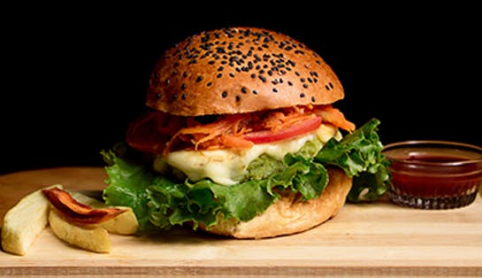 The Veggie House - 2x1 en todas las hamburguesas
